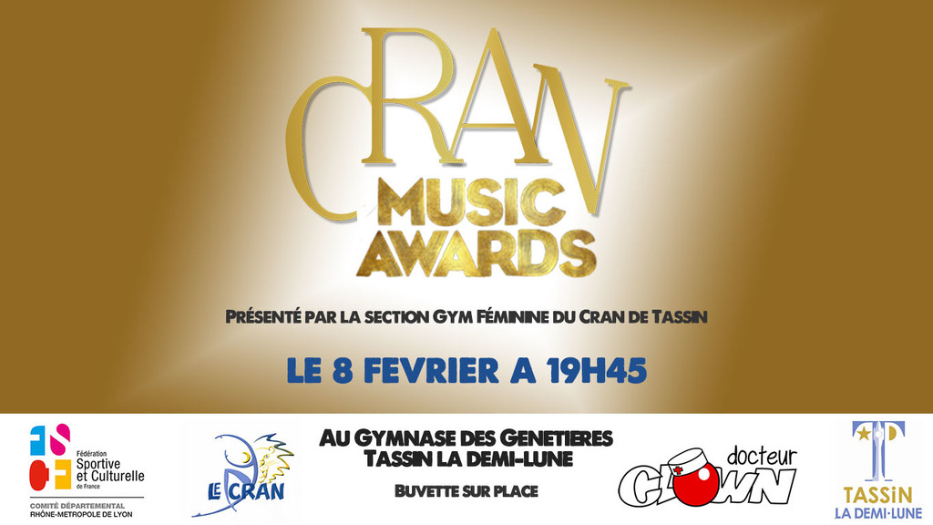Gala - Cran Music Awards 2020